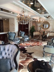 One of the royal rooms at the Beauty Crown